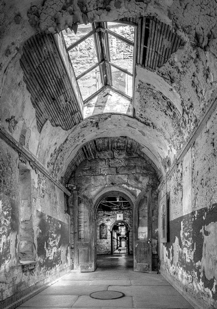 Corridor at the State Penitentiary